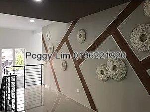 2 storey terrace (Intermediate) for Sale, at Taman Alam Megah, Section 28, Shah Alam