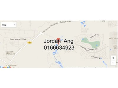 10 Acres Agricultural Land (Zoned Residential) In Seremban