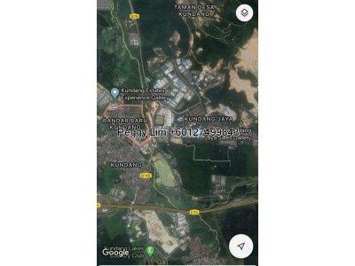 Petrol Land at Bandar Baru Kundang For Sale