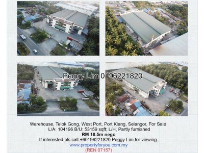 Warehouse Telok Gong, Port Klang