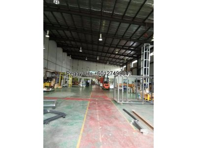Factory/Warehouse for rent @ Jalan Teluk Pulai, Shah Alam. ** Land Title : Commercial