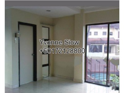 Lower Unit @ Villa Laman Tasik, 2 Storey Townhouse