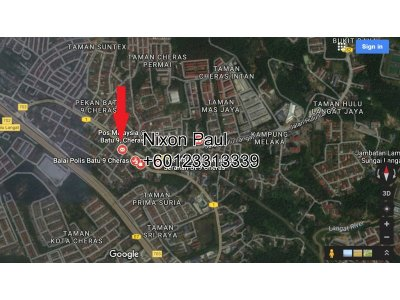 20,000 Sq Ft Land Off 9TH Mile Cheras-Kajang Highway