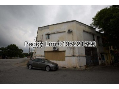 1.5sty Factory Meranti Jaya, Puchong For Rent