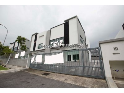 2sty Semi Detached Factory, Bukit Serdang, Seri Kembangan, L/a: 13,300sq ft, Good Location