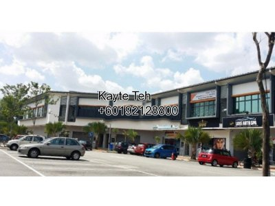 2 Storey Intermediate Shop Office at U8, Bukit Jelutong, Shah Alam