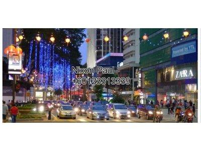 Prime Ground Floor Retail Space For Rent Along Jalan Bukit Bintang, KL