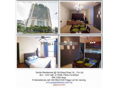 Saville Residence @ Old Klang Road, KL