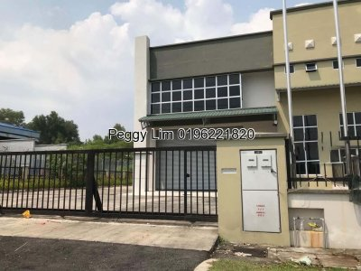 Semi-D Factory To Let, Jalan Omboh 2, Shah Alam
