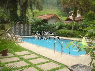 Partly Furnished Bungalow for rent in Taman Hillview, Ampang