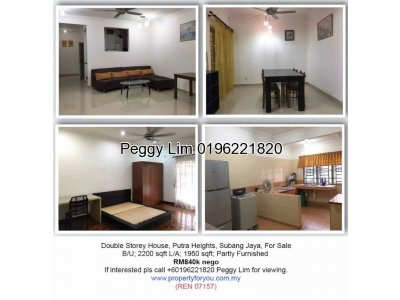 Double Storey Terrace House @ Putra Heights
