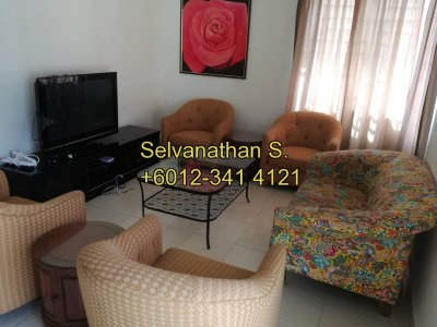 Furnished Unit for rent @ Platinum HIll PV8, Setapak, KL