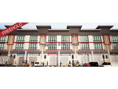 3 Storey Terrace Factory for Sale at LCH Industrial Park @ Kapar, Klang
