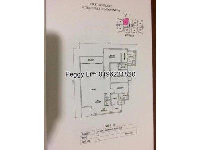 Seri Puteri Hills Condominium for Sale IOI Puchong
