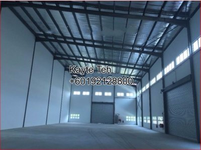 Semi-Detached Factory @ ETP2 Meru Industrial Park, Klang