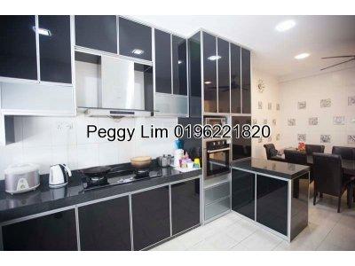 2.5sty Terrace House For Sale, Taman Meranti Jaya, Puchong, Selangor.
