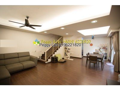 Fully renovated House , 2sty Endlot with Land House For Sale, Jalan Sungai Kelubi 32/103, Bukit Rimau, Shah Alam, Selangor.