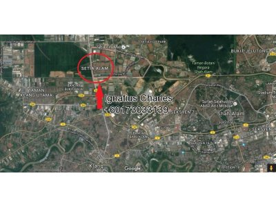 4. 8 Acres Industrial Land In Setia Alam