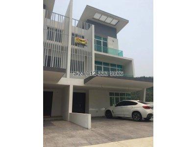 3 Storey Semi-D (BRAND NEW)  Corner unit   Clover Semi-D @ Garden Residence,   Cyberjaya, Selangor
