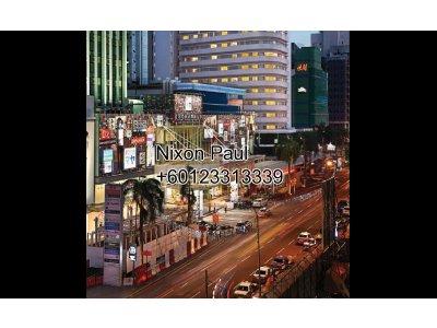 Prime Retail Space For Rent Along Jalan Bukit Bintang, KL