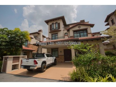 3 Storey Exclusive Bungalow for Sale, at Diamond City Residence, Semenyih